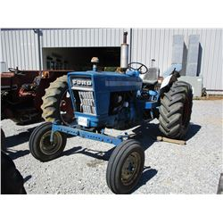 FORD D2014C FARM TRACTOR, VIN/SN:824015 - REMOTE, 18.4-26 TIRES, METER READING 1184 HOURS