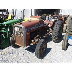 MASSEY FERGUSON 245 FARM TRACTOR, VIN/SN:9A251280 - 13.6-28 TIRES, METER READING 1334 HOURS