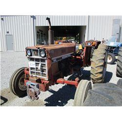 INTERNATIONAL 584 FARM TRACTOR, VIN/SN:278 - METER READING 3,580 HOURS