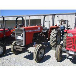 MASSEY FERGUSON 261 FARM TRACTOR, VIN/SN:11012 - ROLL BAR, METER READING 1087 HOURS