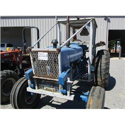 FORD 6600 FARM TRACTOR, VIN/SN:C630474 - CANOPY, 16.9-30 REAR TIRES, 10.00-16 FRONT TIRES, METER REA