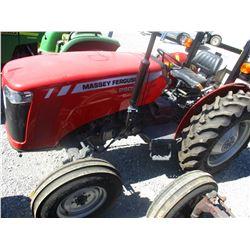 MASSEY FERGUSON 2605 FARM TRACTOR, VIN/SN:MEAB244DYF1041570 - ONE REMOTE, ROLL BAR, 13.6-28 TIRES