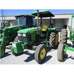 2006 JOHN DEERE 5103 FARM TRACTOR, VIN/SN:011781 - CANOPY, METER READING 1,338 HOURS