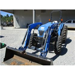 NEW HOLLAND WORKMASTER 50 FARM TRACTOR, VIN/SN:5377344 - MFWD, 1 REMOTE, NEW HOLLAND 621TL FRONT LOA