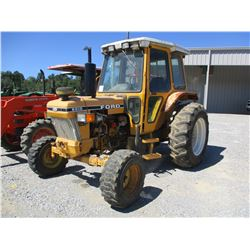 FORD 6610 FARM TRACTOR, VIN/SN:BB32046 - MFWD, 1 REMOTE, CAB, A/C, 16.9-30 TIRES, METER READING 6001