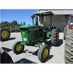 JOHN DEERE 4010 FARM TRACTOR, VIN/SN:1T41229 - 1 REMOTE, CANOPY, 15.5-35 TIRES