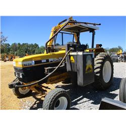 FORD 7840 FARM TRACTOR, VIN/SN:BD76820 - 2 REMOTES, ALAMO SIDE MOWER, 4' BRUSH HEAD, CANOPY, METER R