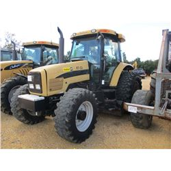 CHALLENGER MT525B FARM TRACTOR, VIN/SN:R023015 - MFWD, 2 REMOTES, LITTLE & COMPANY MODEL 000203CHPFB