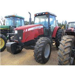 MASSEY FERGUSON 5465 FARM TRACTOR, VIN/SN:F25A22GF613A - MFWD, 3 REMOTES, CAB, A/C, 18.4-34 TIRES, M