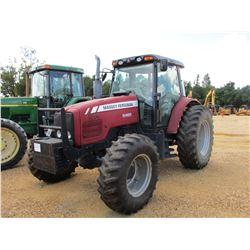 MASSEY FERGUSON 5465 FARM TRACTOR, VIN/SN:F25A22AR611A - MFWD, 3 REMOTES, CAB, A/C, 18.4-34 TIRES, M