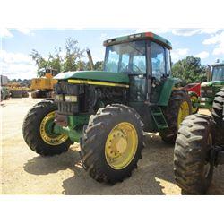 JOHN DEERE 7410 FARM TRACTOR, VIN/SN:040463 - MFWD, 3 REMOTES, ECAB, A/C, 480/70R34 TIRES, METER REA