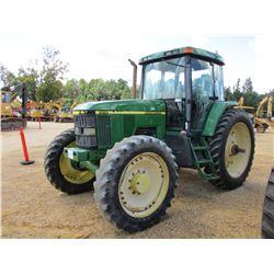 JOHN DEERE 7410 FARM TRACTOR, VIN/SN:087599 - MFWD, 3 PTH, PTO, 2 HYD REMOTES, 14.9R46 REAR TIRES, 3