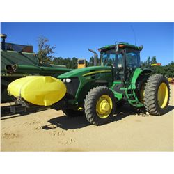 JOHN DEERE 7730 FARM TRACTOR, VIN/SN:024567 - MFWD, 5 REMOTES, QUICK ATTACH, FRONT MTD TANK, CAB, A/