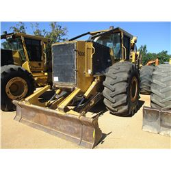 2014 TIGERCAT 630E SKIDDER, VIN/SN:6304081 - DUAL ARCH, WINCH, CAB, 30.5L-32 TIRES, METER READING 7,