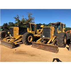 2016 TIGERCAT 630E SKIDDER, VIN/SN:6304520 - DUAL ARCH, WINCH, CAB, A/C, METER READING 3506 HOURS