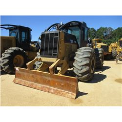 CAT 535C SKIDDER, VIN/SN:53500363 - DUAL ARCH, WINCH, CAB, A/C, 30.5-32 TIRES, METER READING 9,913 H
