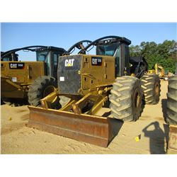 CAT 525D SKIDDER, VIN/SN:GKP00118 - DUAL ARCH, WINCH, CAB, A/C, 30.5L-32 TIRES, METER READING 4822 H