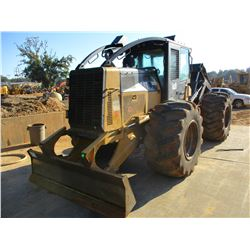 2013 CAT 525C SKIDDER, VIN/SN:52501829 - DUAL ARCH, AINCH, CAB, A/C, 30.5L-32 TIRES, METER READING 9