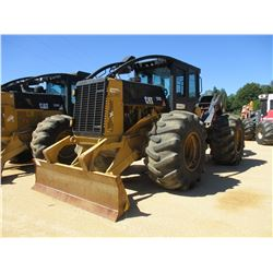 2012 CAT 525C SKIDDER, VIN/SN:52501467 - SINGLE ARCH, WINCH, CAB, A/C, 30.5-32 TIRES, METER READING