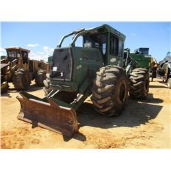 2006 FRANKLIN Q80 SERIES 2000 SKIDDER, VIN/SN:18713 - DUAL ARCH, WINCH, M36 GRAPPLE, CAB, A/C, CUMMI