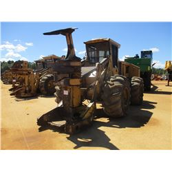 TIGERCAT 726B FELLER BUNCHER, VIN/SN:7261099 - KOHERING CENTER POST SAW HEAD, 28L-26 TIRES, METER RE