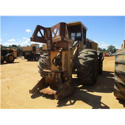 2011 TIGERCAT 724E FELLER BUNCHER, VIN/SN:7242043 - TIGERCAT SAW HEAD, CAB, A/C, 30.5L-32 TIRES