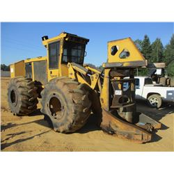 2011 TIGERCAT 724E FELLER BUNCHER, VIN/SN:7242053 - TIGERCAT 5600 SAW HEAD, CAB, AC, 30.5L-32 TIRES,