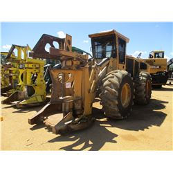 2007 TIGERCAT 720E FELLER BUNCHER, VIN/SN:7204554 - TIGERCAT S503 SAW HEAD, CAB, A/C, 24.5-32 TIRES,