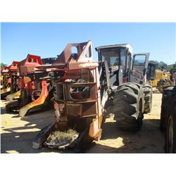 PRENTICE 2570 FELLER BUNCHER, VIN/SN:2570 - SH56 PRENTICE SAW HEAD, CAB, A/C, 28L-26 TIRES, METER RE