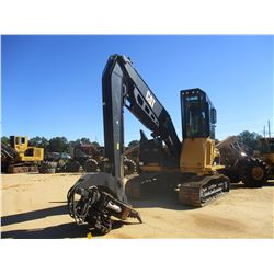 2015 CAT 320D FM CRAWLER LOG LOADER, VIN/SN:GKS00437 - LIVE HEEL, HULTDINS SAW GRAPPLE MODEL 4552HD,