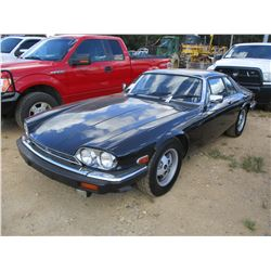 1985 JAGUAR XJS-HE VIN/SN:SAJNV5842FC119172 - GAS ENGINE, A/T, ODOMETER READING 48,599 MILES