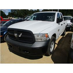 2014 DODGE RAM 1500 PICK UP, VIN/SN:1C6RR6FG2EJ170299 - EXTENDED CAB, V8 GAS ENGINE, A/T, ODOMETER R