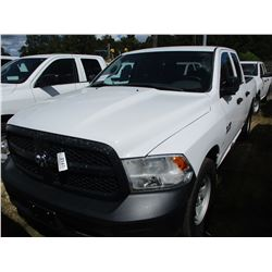 2015 DODGE RAM 1500 PICK UP, VIN/SN:1C6RR6FG9FS668548 - EXTENDED CAB, V8 GAS ENGINE, A/T, ODOMETER R