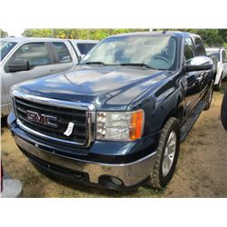 2008 GMC SIERRA PICKUP, VIN/SN:2GTEC13J981219305 - TEXAS EDITION, GAS ENGINE, A/T, ODOMETER READING
