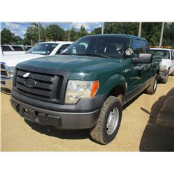 2011 FORD F150 PICKUP, VIN/SN:1FTFX1EF6BKD23890 - 4X4, EXTENDED CAB, GAS ENGINE, A/T, ODOMETER READI