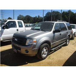 2008 FORD EXPEDITION VIN/SN:1FMFU15598LA86679 - GAS ENGINE, A/T, ODOMETER READING 151,931 MILES