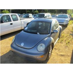 2004 VOLKSWAGON BEATLE VIN/SN:3VWCK31C14M412686 - GAS ENGINE, A/T, ODOMETER READING 181,816 MILES