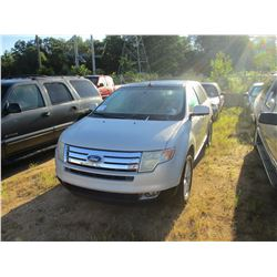 2007 FORD EDGE VIN/SN:2FMDK39687BA29289 - GAS ENGINE, A/T, ODOMETER READING 177,409 MILES