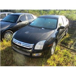 2009 FORD FUSION VIN/SN:3FAHP081X9R146467 - GAS ENGINE, A/T, ODOMETER READING 167,570 MILES (REBUILT