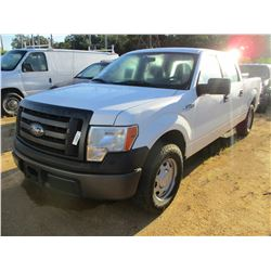 2011 FORD F150 PICKUP, VIN/SN:1FTFW1CF4BFB28594 - CREW CAB, GAS ENGINE, A/T, ODOMETER READING 166,82