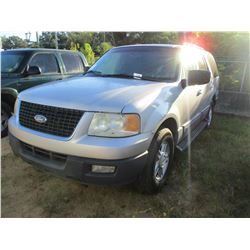 Ford Expedition Vin Snfmpula Gas A T