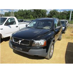 2006 VOLVO XC90 VIN/SN:YV4CYS92X61230135 - GAS ENGINE, A/T, ODOMETER READING 164,455 MILES