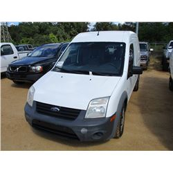 2013 FORD TRANSIT VAN, VIN/SN:NM0L57CN6DT172879 - GAS ENGINE, A/T, ODOMETER READING 161,622 MILES