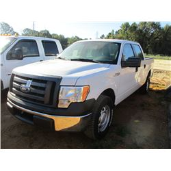 FORD F150 PICKUP, VIN/SN:1FTFW1CF1CFC23874 - CREW CAB, GAS ENGINE, A/T, ODOMETER READING 141,560 MIL