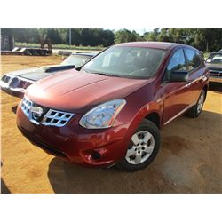 2011 NISSAN ROGUE VIN/SN:JN8AS5MV3BW269745 - GAS, A/T, ODOMETER READING 133,926 MILES