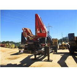 2015 CAT 559C LOG LOADER, VIN/SN:KB400175 - CAB, A/C, CTR 426 DELIMBER, MTD ON PITTS TRAILER, S/N 15