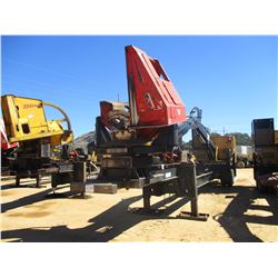 2014 CAT 559C LOG LOADER, VIN/SN:KAS00528 - CAB, A/C, CTR 426 DELIMBER, MTD ON PITTS TRAILER, S/N 15