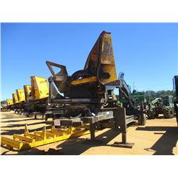 2013 JOHN DEERE 437D LOG LOADER, VIN/SN:240506 - CAB, A/C, CSI PDT-264 ULTRA DELIMBER, MTD ON PITTS