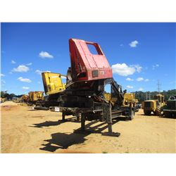 2011 CAT 529B DS LOG LOADER, VIN/SN:PR65099 - CAB, A/C, CTR 426 DELIMBER, MTD ON PITTS TRAILER, S/N
