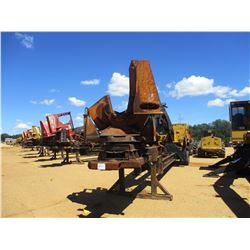 2004 TIGERCAT 240B LOG LOADER, VIN/SN:2401048 - CAB, A/C, DELIMBER, MTD ON BIG JOHN TRAILER